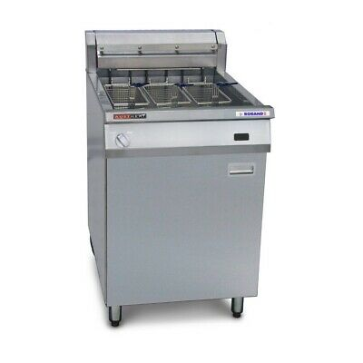 Austheat Freestanding Electric Fryer, 3 baskets Standing Deep Fryers