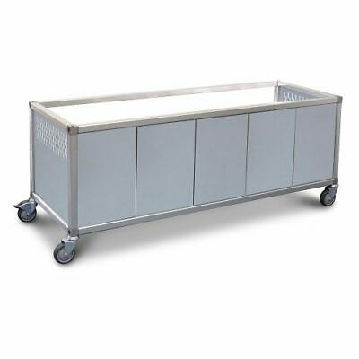 Roband Food Bar and Bain Marie Trolley, 12 pans size