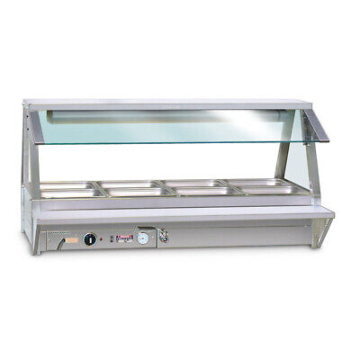 Roband Tray Race, suits 6 pan size foodbars, single row