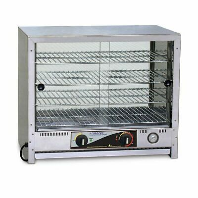 Roband Pie and Food Warmer 100 pies, doors both sides Pie Warmers and Heated