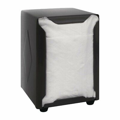 Olympia Napkin Dispenser Black - 140(h)x95(w)x105(d)mm