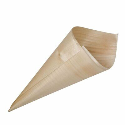 Cone Bio Wood - 120mm (Pack 100) Non Branded|