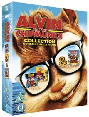 Alvin and the Chipmunks: Collection (BLU-RAY 3 DISC BOX SET, 2011) *NEW*