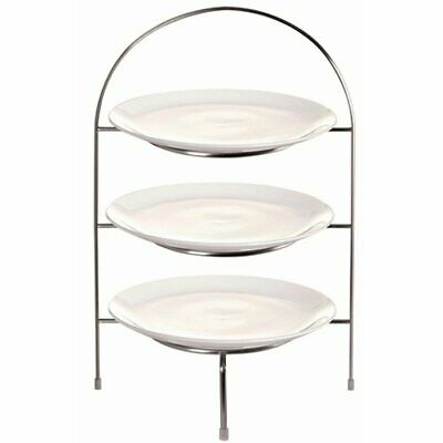 """Olympia Plate Stand for 3x Plates up to 8 1/4"""""""