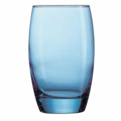 Arc Salto Ice Blue Hi Ball Tumbler - 350ml 12oz (Box 24) Arcoroc|
