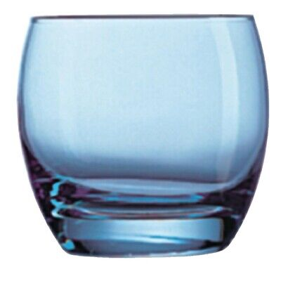 Arc Salto Ice Blue Old Fashioned Tumbler - 320ml 10.75oz (Box 24) Arcoroc|