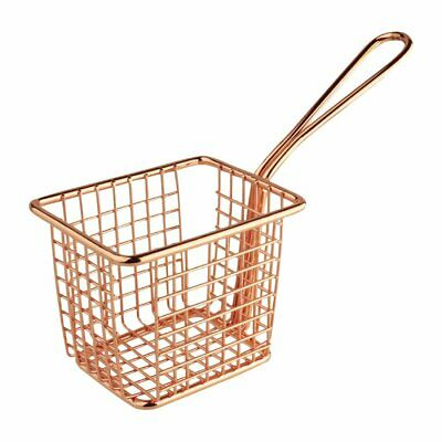 Olympia Square Presentation Basket Copper - 80(H)x100(W)x80mmD