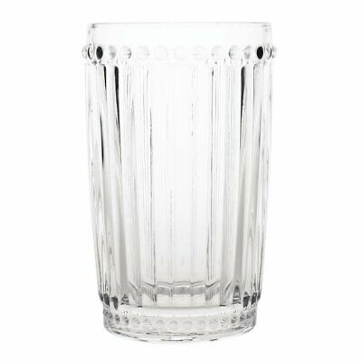 Olympia Baroque Tumbler Clear - 395ml 14oz (Box 6)