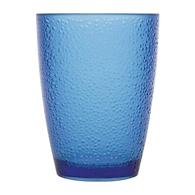 Kristallon Polycarbonate Frosted Tumbler - 275ml 9.75oz Blue (Box 6)