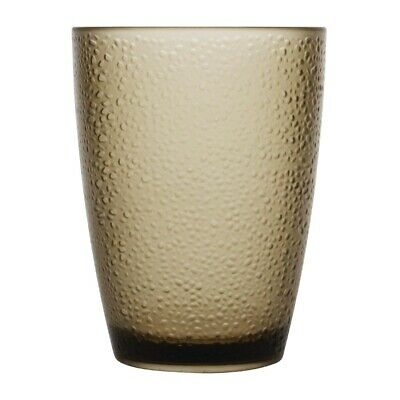 Kristallon Polycarbonate Frosted Tumbler - 275ml 9.75oz Tan (Box 6)