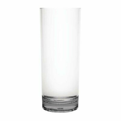 Kristallon Polycarbonate Hiball Tumbler - 360ml 12.75oz Clear (Box 6)