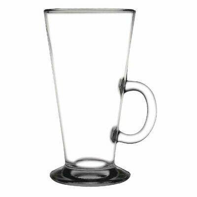 Olympia Toughened Coffee Latte Glass - 285ml 10oz (Box 12)