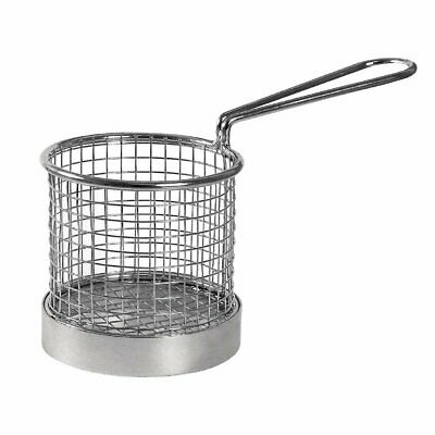 Olympia Round Presentation Basket with Handle - 95dia x 80Hmm (was GG874)