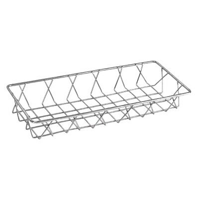 Olympia St/St Wire Display Basket 350x150x50mm