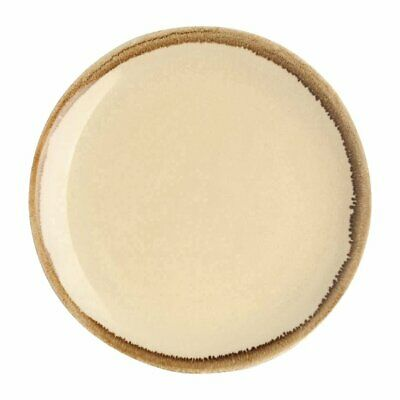 """Olympia Kiln Sandstone Coupe Plate - 228mm 9"""" (Box 6)"""