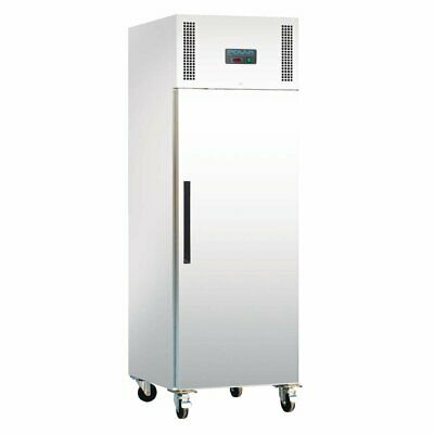 Polar G-Series Upright Fridge White 600Ltr Solid Door Fridges