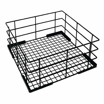 Vogue Wire High Sided Glass Basket -180(h)x350(w)x350(d)mm