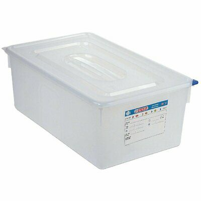 Araven Food Container - 1/1 GN 28Ltr with Lid 200mm (H) (Pack 4)