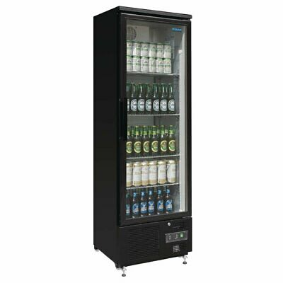 Polar G-Series Upright Back Bar Cooler with Hinged Door 307Ltr