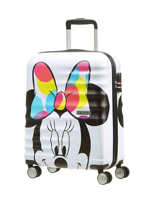 Trolley American Tourister wavebreaker disney spinner S 31C*001 minnie close-up