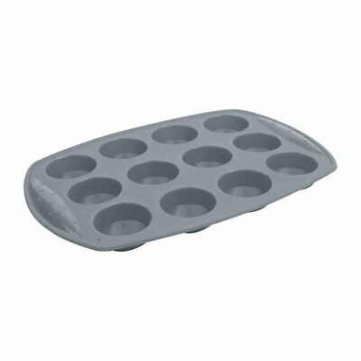 Vogue Flexible Silicone 12 Hole Cupcake Pan