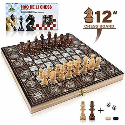 TIMELESS CHESS SET including a vintage plastic foldable board and