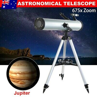AU Astronomical Telescope 114mm Aperture Night Vision 675x Zoom High Resolution