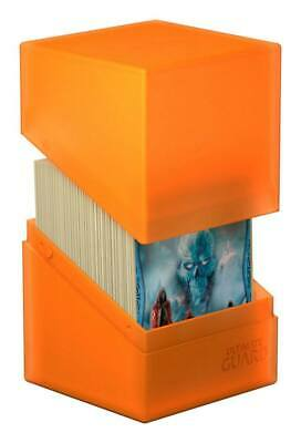 Ultimate Guard - Boulder Deck Case 100+ Poppy Topaz Gaming Card Box for Arkhive