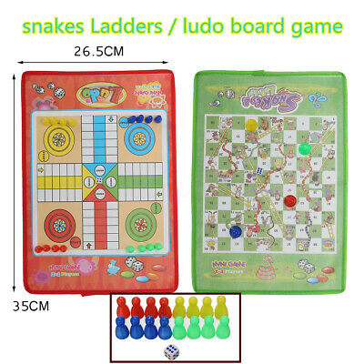 Giant Ludo and Giant Snakes & Ladders Game Traditional Family Outdoor Game
