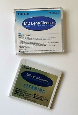 Sony MD-6LCL Minidisc Lens Cleaning Disc MD Minidisk cleaner