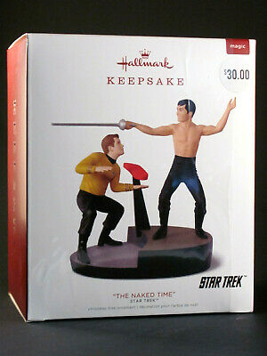 "Hallmark Keepsake Star Trek ""The Naked Time"" Xmas Tree Ornament - Brand New"