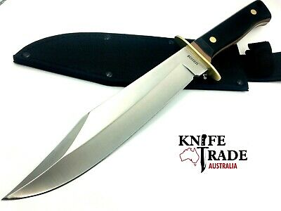 "Schrade Old Timer 14.5"" Bowie Knife +Sheath 1085938 10"" Blade Hunting Camp Knife"