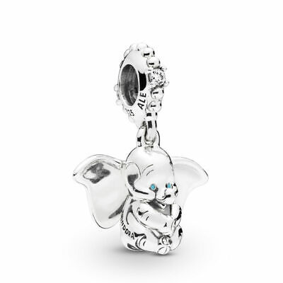 NEW PANDORA Disney Dumbo Pendant Charm • Solid Sterling Silver S925 Gift Pouch