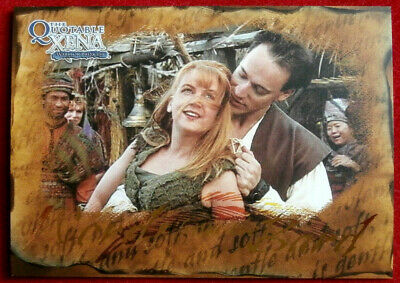 Quotable XENA - Words from the Bard - Individual Chase Card B4 - Love is Gentle