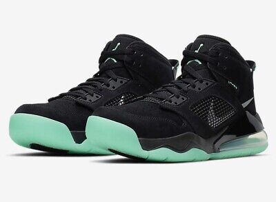 quality design fd9dd 2de6d JORDAN MARS 270 Nike Air Max Son Black Green Glow In Dark 1 4 5 6 Retro 23  Logo