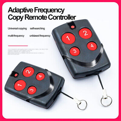 Multi-Frequency 270 to 868MHZ Cloning Remote Control Key Fob Gate Garage Door Q