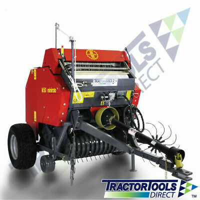 TXP33 MINI ROUND Baler with net wrap and 3 point hitch by
