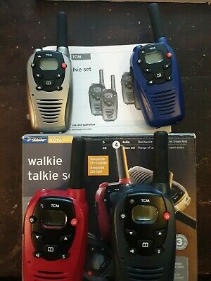 4X BINATONE LATITUDE 100 Walkie Talkie x 4 - £19 99 | PicClick UK