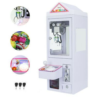 Electronic Claw Crane Mini Doll Machine Arcade Candy Grabber Toy For Kids