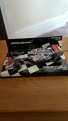 Minichamps 1 43 2006 Mclaren Mercedes, Edition 43 No.72  MP 4-21 Kimi Raikkonen