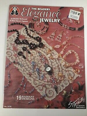 🌟 The Beadery Elegance Jewelry Jewelry Making Instruction and Idea Book (#A9)