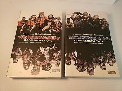 IMAGE The Walking Dead Compendium One & Two Graphic Novels
