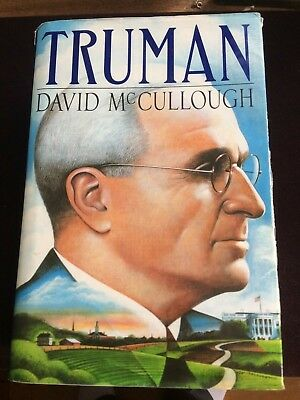 Truman by David McCullough (1992, Hardcover) Signed By The Author