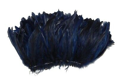 "Trim//Costume//Halloween 100 Pcs ROOSTER Coque Fringe ROYAL BLUE 4-6/"" Feathers"