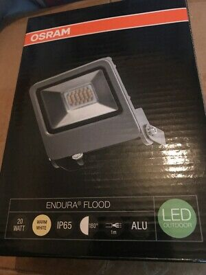 Osram Endura Flood Light Led Outdoor IP65, Dark Grey 20w