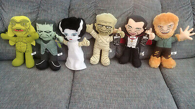 Toy Factory Universal Monsters Plush Frankenstein Mummy Dracula Werewolf bride