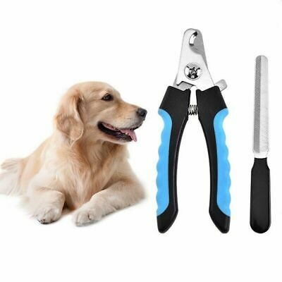 Professional Safety Dog Cat Pet Grooming Toe Nail Claw Clippers Trimmer Cutter