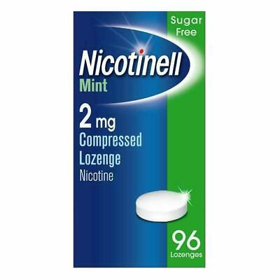 Nicotinell Mint 2mg Medicated Chewing Gum 96 Pieces