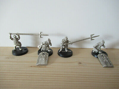 Games Workshop Citadel Lord of the Rings Lotr Dwarf Vault Warden Team Metal