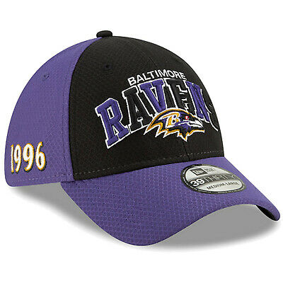 2019 Baltimore Ravens New Era 39THIRTY NFL Sideline Home On Field Cap Hat 1990s
